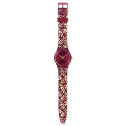 Swatch GR179 Armband-Uhr Damask Analog Quarz mit Silikon-Band