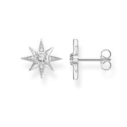 Thomas Sabo SCH150289 Ohrstecker Ohrringe Damen Stern Silber