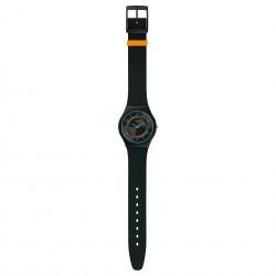 Swatch SFB147 Armband-Uhr Troposphere Analog Quarz Silikon-Armband