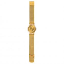 Swatch SFK355M Armband-Uhr Generosity Analog Quarz Milanese Edelstahl-Armband