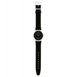 Swatch SFK361 Damen-Uhr Black Classiness Lifestyle Silikon Ø 34 mm