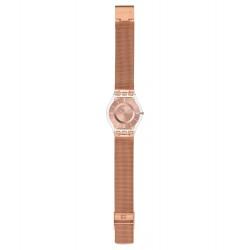 Swatch SFP115M Damen-Uhr Hello Darling Classic Edelstahl Rosé Ø 34 mm