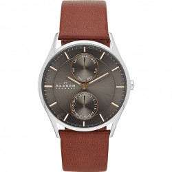 Skagen SKW6086 Herrenuhr Holst Multifunktion Leder Ø 40 mm