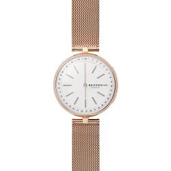 Skagen SKT1404 Hybrid Smartwatch Damen Signatur T-Bar mit Milanaise-Band