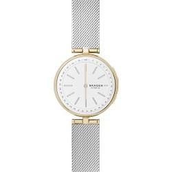Skagen SKT1413 Hybrid Smartwatch Damen Signatur T-Bar mit Milanaise-Band