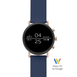 Skagen SKT5110 Smartwatch Falster 2 Marine mit Silikon-Band Ø 40 mm