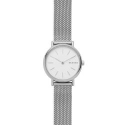 Skagen SKW2692 Damen-Uhr Signatur Slim Milanaise Silber Ø 30 mm