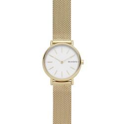Skagen SKW2693 Damen-Uhr Signatur Slim Milanaise Gold-Ton Ø 30 mm