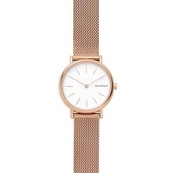 Skagen SKW2694 Damen-Uhr Signatur Slim Milanaise Rosé-Ton Ø 30 mm