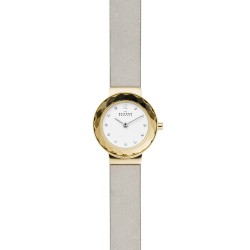 Skagen SKW2778 Damen-Uhr Leonora Analog Quarz Leder-Band Ø 25 mm