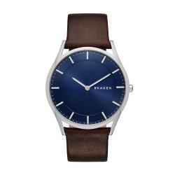 Skagen SKW6237 Herren-Uhr Holst Slim Leder Ø 40 mm