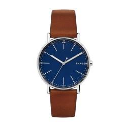 Skagen SKW6355 Herren-Uhr Signatur Leder Braun Ø 40 mm