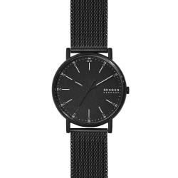 Skagen SKW6579 Herren-Uhr Signatur Analog Quarz Edelstahl-Band Ø 40 mm