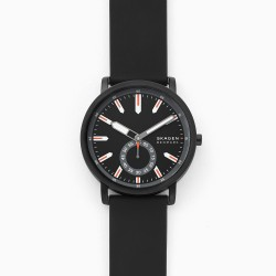 Skagen SKW6612 Herren-Uhr Colden Analog Quarz Silikon-Band Ø 40 mm