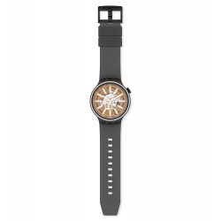 Swatch SO27B114 Armband-Uhr Light Taste Analog Quarz Silikon-Armband