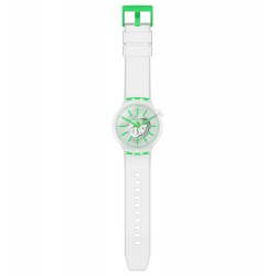 Swatch SO27E104 Armband-Uhr Big Bold Greeninjelly Analog Quarz