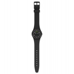 Swatch SO28B100 Armband-Uhr Masa Analog Quarz Silikon-Armband