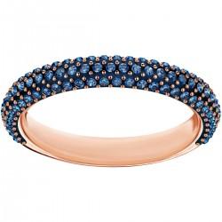 Swarovski Ring Stone Mini Blau Rosé Vergoldung