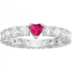 Swarovski Ring Love Ring Weiss Rhodiniert