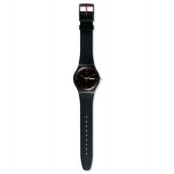 Swatch SUOB714 Armband-Uhr Gaet Analog Quarz mit Silikon-Band