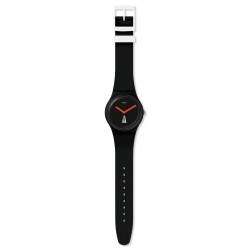 Swatch SUOB727 Armbanduhr Ouverture Quarz Silikon Armband Ø 41,00 mm