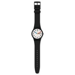 Swatch SUOB728 Armband-Uhr Elementary Analog Quarz mit Silikon-Band