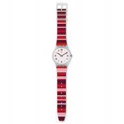 Swatch SUOK138 Armbanduhr Tramonto Occaso Quarz Silikon Armband Ø 41,00 mm