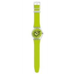 Swatch SUOK139 Armbanduhr Bikiwi Quarz Silikon Armband Ø 41,00 mm