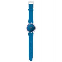 Swatch SUOK711 Armbanduhr Polablue Analog Quarz Silikon-Band Ø 41,00 mm