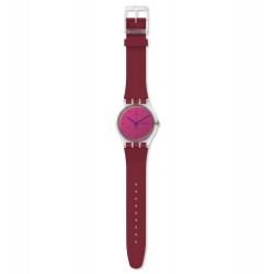 Swatch SUOK717 Armband-Uhr Polared Analog Quarz mit Silikon-Band