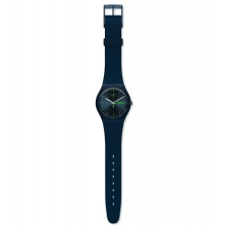 Swatch SUON700 Armbanduhr Blue Rebel New Gent Silikon Ø 41 mm
