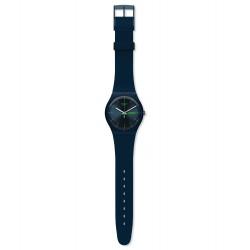 Swatch SUON700 Armbanduhr Blue Rebel New Gent Silikon Ø 41 mm