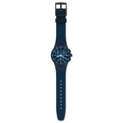Swatch SUSB417 Armbanduhr Blue Steward Quarz Silikon Armband Ø 42,00 mm