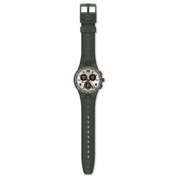Swatch SUSG405 Armbanduhr Verdone Quarz Silikon Armband Ø 42,00 mm