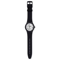 Swatch SUTB407 Armbanduhr Sistem Kamu Automatik mit Silikon Armband Ø 42,00 mm