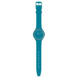 Swatch SVOL100 Armbanduhr Skinautique Quarz Silikon Armband Ø 36,80 mm