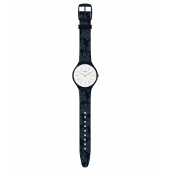 Swatch SVON102 Armbanduhr Skinwall New Skin Silikon Ø 36.80 mm