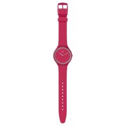 Swatch SVOR101 Armbanduhr Skinlampone Quarz Silikon Armband Ø 36,80 mm