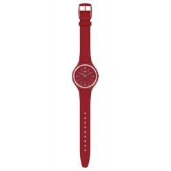 Swatch SVUR101 Armbanduhr Skindeep Quarz Silikon Armband Ø 40,00 mm