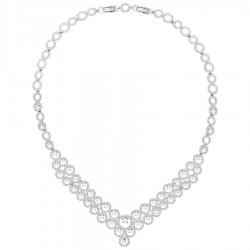 Swarovski 5423254 Kette Collier Damen Creativity Weiss Silber-Ton