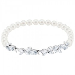 Swarovski 5422684 Armband Damen Louison Perl Weiss Silber-Ton