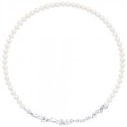 Swarovski 5414693 Kette Collier Louison Perl Weiss Silber-Ton