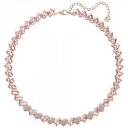 Swarovski 5412346 Kette Collier Damen Mix Rosa Rosé Vergoldung