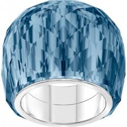 Swarovski 5474371 Ring Nirvana Blau Edelstahl Silber-Ton