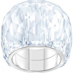 Swarovski 5474362 Ring Nirvana Weiss Edelstahl Silber-Ton