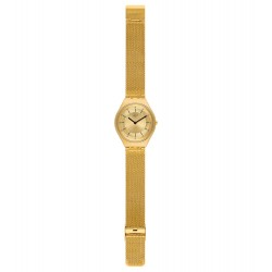 Swatch SYXG102M Armband-Uhr Skindoro Analog Quarz mit Edelstahl-Band