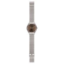 Swatch SYXS112GG Armbanduhr Skinboot Analog Quarz mit Edelstahl Armband Ø 38,00 mm