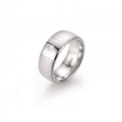 TeNo 069.2617.D49 Partner-Ring TaMoR Brillant Edelstahl  Gr. 56