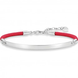 Thomas Sabo LBA0031-173-10 Armband Love Bridge Silber Rot