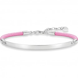 Thomas Sabo LBA0031-173-9 Armband Love Bridge Silber Rosa